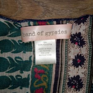 Band of Gypsies Sweaters - Band of Gypsies sheer kimono
